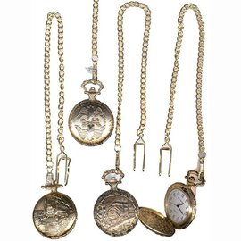 Pocket Watch - Gold