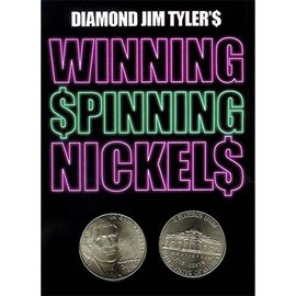 Diamond Jim Tayer Winning Spinning Nickels (two pack) by Diamond Jim Tyler - Trick