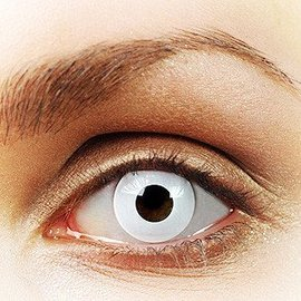 Fine And Clear White Out Contact Lenses