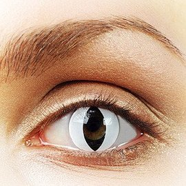Fine And Clear White Cat Contact Lenses