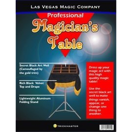 India Magician's Black Art Table Top With Stand (M9)
