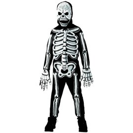 Rubies Costume Company 3-D Skeleton, Glow - Child Large 12-14