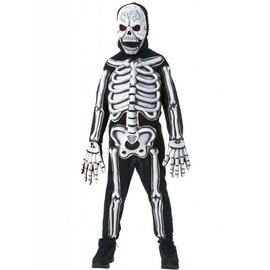 Rubies Costume Company 3-D Skeleton, Glow Child Med 8-10