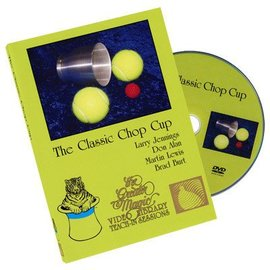 Twin Cities Magic And Costume Co. DVD The Classic Chop Cup - Teach-In Sessions