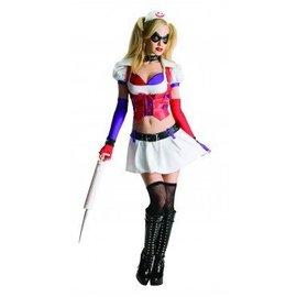 Rubies Costume Company Harley Quinn - Arkham Adult Medium 6-10