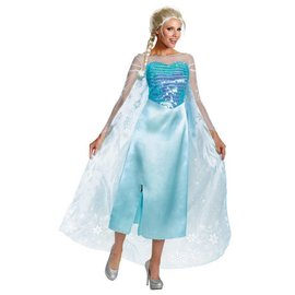 Disguise Elsa Deluxe Adult - Small 4-6