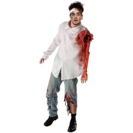 Forum Novelties Zombie Attack Victim Shirt - Adult 42