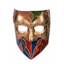Forum Novelties Classic Jester Venetian Mask