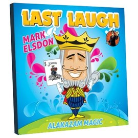 Alakazam Magic UK Last Laugh by Mark Elsdon - Trick