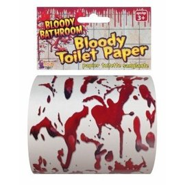 Forum Novelties Bloody Toilet Paper