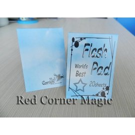 Red Corner Magic Flash Pad (White) by Red Corner Magic