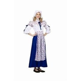 RG Costumes And Accessories Blue Colonial Woman - Adult 8-10