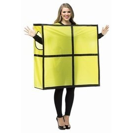 Rasta Imposta Tetris Tetrimino Yellow - Adult