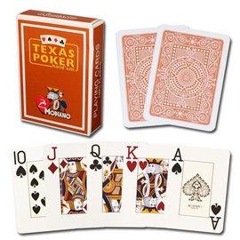 Modiano Modiano Texas Poker Jumbo - Brown (M5)