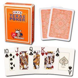 Modiano Modiano Texas Poker Jumbo - Orange (M5)