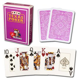 Modiano Modiano Texas Poker Jumbo - Purple (M5)
