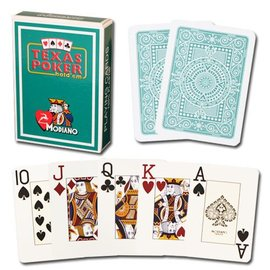 Modiano Modiano Texas Poker Jumbo - Dark Green  (M5)