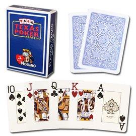 Modiano Modiano Texas Poker Jumbo - Blue (M5)