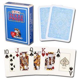 Modiano Modiano Texas Poker Jumbo - Light Blue (M5)