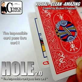 Gimmick Magic HOLE 2.0 (RED) by Mickael Chatelain - Trick