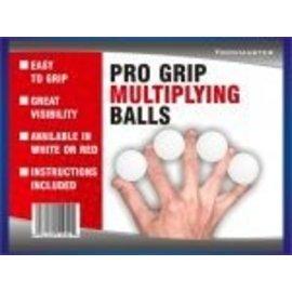 Trickmaster Magic Pro Grip Multiplying Balls - White