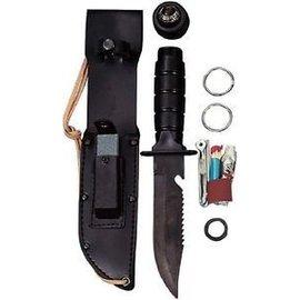 Rothco Survival Kit Knife - Black (M5)