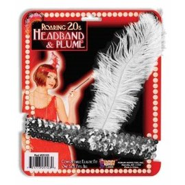 Forum Novelties Roaring 20s Headband Silver
