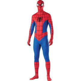 Rubies Costume Company 2nd Skin Spider-Man, Comic - Large