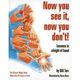 Vintage Books Now You See It, Now You Don't by Bill Tarr