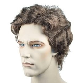 Lacey Costume Wig Wavy Men's - Brown Wig