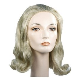 Lacey Costume Wig 1960s Prom Pageboy C Blonde Wig