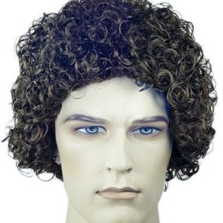 Lacey Costume Wig Curly Style 100, Brown - Wig