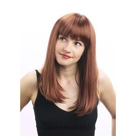 Lacey Costume Wig New Round Cleo, Light Brown Wig