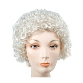 Lacey Costume Wig Style 100 Curly Grey Wig