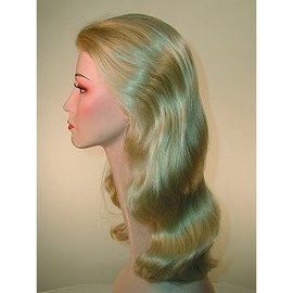 Lacey Costume Wig Discount Veronica Lake Blonde Wig