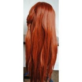 Lacey Costume Wig Page Wig 1417, Flame Red