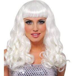 Franco American Party Girl Wig - Platinum White