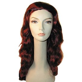 Lacey Costume Wig Discount Veronica Black Wig