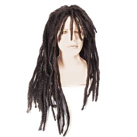 Lacey Costume Wig Milly Vin Dreadlock, Black Wig
