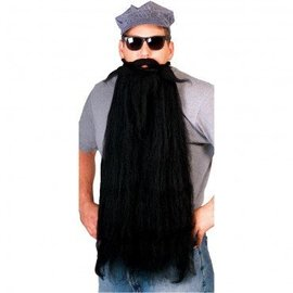 Rubies Costume Company Beard And Moustache 25 inch Black