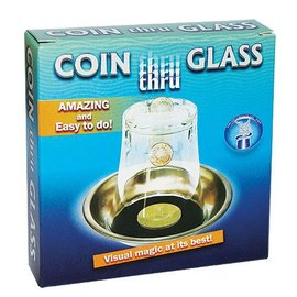 Vincenzo Di Fatta Coin Thru Glass - Coin