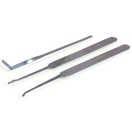 Ronjo Lock Pick Set - Turning Tool, Hook and Rake (M10/889)