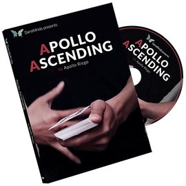 San's Minds Apollo Ascending (DVD and Gimmick) by Apollo Riego - DVD