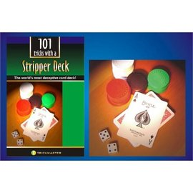 Trickmaster Magic Stripper Deck w/Book Kit - Bicycle Poker