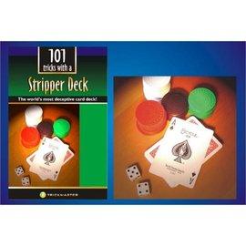 Trickmaster Magic Stripper Deck w/Book Kit - Bicycle Poker