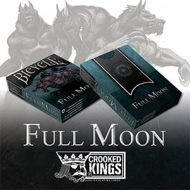 Crooked Kings Bicycle Werewolf Full Moon Playing Cards (Standard Edition)