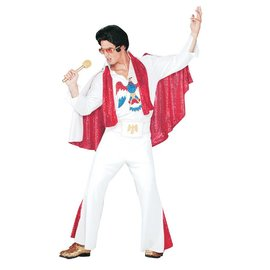 pony express Elvis Deluxe w/ Cape Adult One Size 42-44