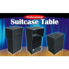 Trickmaster Magic Suitcase Table - Pro