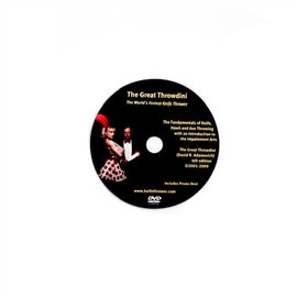 The Great Throwdini DVD -  The Great Throwdini - The World's Fastest Knife Thrower