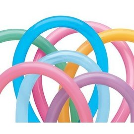 Qualatex 260Q Balloons Vibrant Assortment - 100 Count